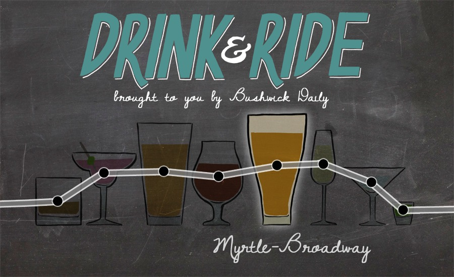 Drink & Ride: 5 Bars by the Myrtle Ave JMZ Stop
