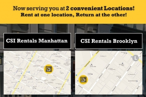 Get 20% Off at CSI Rentals for Bushwick Daily Readers with Promo Code 'BUSHWICK'