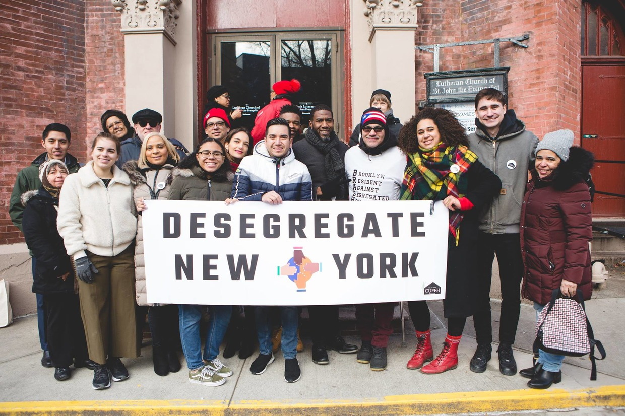 Anti-Segregation Campaign for Housing is Launched in Bushwick