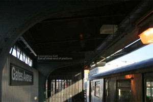 Gates Avenue J Train Commuters Are Petitioning to Open Up a Locked End of Their Station