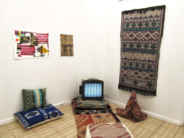 Fiber is the New Black: AZETTAGH brings textiles to OUTLET Fine Art