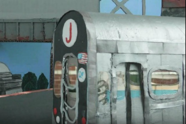 This Quirky Claymation Music Video Stars Bushwick's Myrtle-Broadway JMZ Station