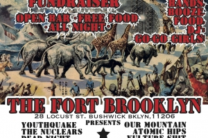 Recording Studio The Fort Brooklyn is Throwing a Black Tie Rock'n'Roll Benefit