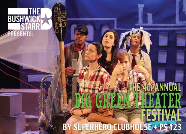 Get in touch with your inner Eco-Thespian this weekend at The Bushwick Starr