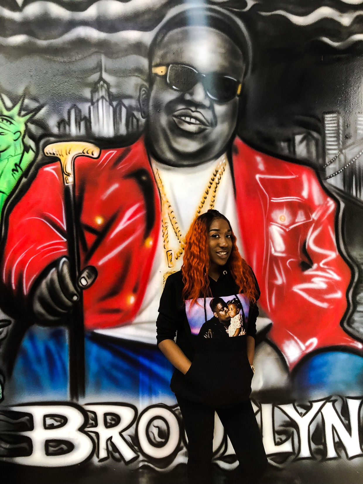 Biggie's Daughter Opens New Location of Her Clothing Line Inspired by Her Father and Hip-Hop