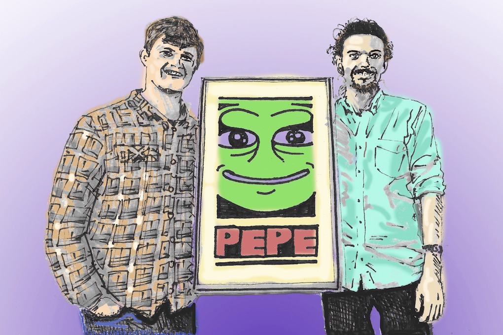 Blockchain Enthusiasts Threw A Pepe The Frog Themed Party in Bushwick