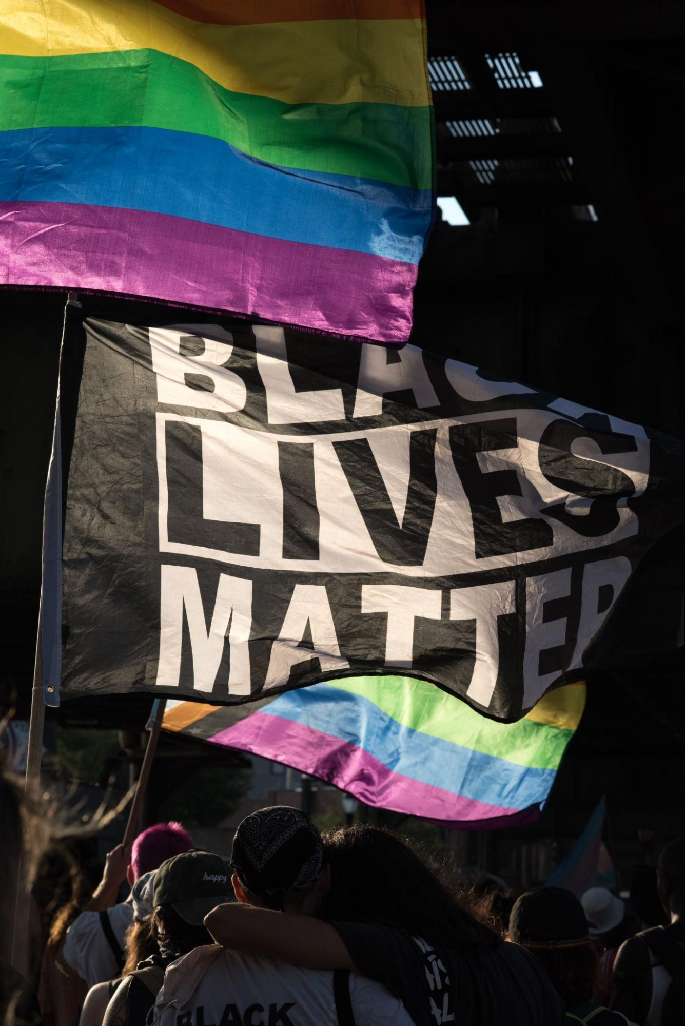 Organizers Hold Wednesday Protest Against Anti-Black and LGBTQ+ Hate in Response to Saturday's 'Anti-Gay' Attack